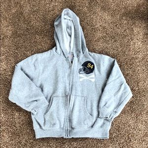 Gymboree Hoodie Sweatshirt with Football design